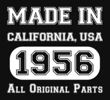 Made in CALIFORNIA, USA 1956 ALL ORIGINAL PARTS by BADASSTEES