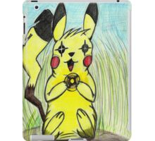 What is a pikachu without his light ball? iPad Case/Skin
