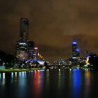 Melbourne Skyline by RosePhotography