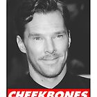 Benedict Cumberbatch Cheekbones by jessvasconcelos