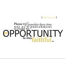An Opportunity by jegustavsen