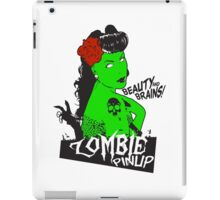 Zombie Pinup #2 iPad Case/Skin