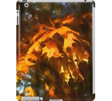Spotlight on the Golden Maple Leaves - Fall Forest Impressions iPad Case/Skin