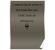 Arrow in the Knee Poster
