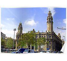 Plaça d'Antonio López Poster