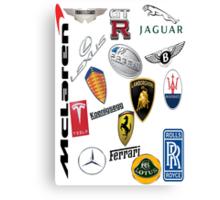 Car - Logos Canvas Print