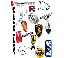 Car - Logos Photographic Print