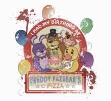 Freddy Fazbear's Birthday! (survivor version) Kids Clothes