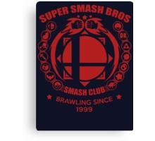 SMASH CLUB (RED) 2 Canvas Print