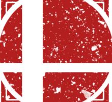SMASH CLUB (RED) Sticker