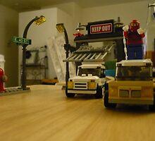 Spiderman Legos by Snoboardnlife