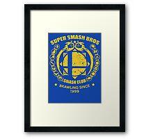 SMASH CLUB *ORIGINAL* Framed Print