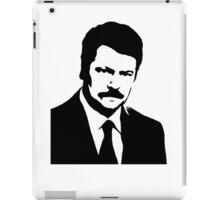 Ron Swanson Parks n Rec iPad Case/Skin
