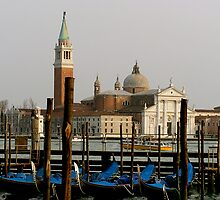 Parked Gondolas by Katie Gill