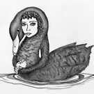 Leda and the Swan by Danielle Bain