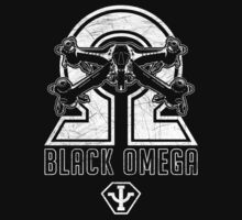Babylon 5 - B5 - Black Omega - Starfury (Distressed) by createdezign