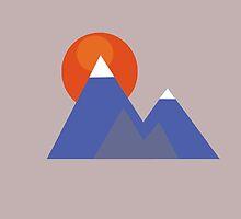 Mountains by ToastyFaceGuru