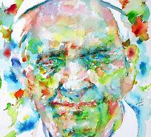POPE FRANCIS - watercolor portrait by lautir