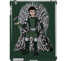 Kuvira on the Iron Throne  iPad Case/Skin