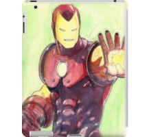 Old School Iron Man iPad Case/Skin