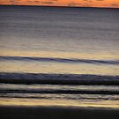 Sunrise over Agnes waters beach Austrailia - sun sea and sand by PennyB