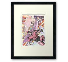 Magneto Master of Magnetism Framed Print