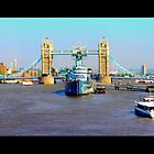 TOWER BRIDGE - LONDON by Angelina Sidarta