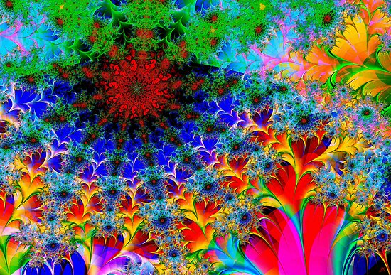 A Naive Fractal by Paolo Galuppi