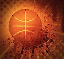 Grunge Basketball by AnnArtshock