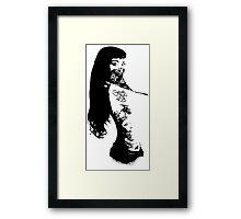 Pin-Up Bandita Framed Print