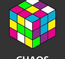 Rubik's Cube Chaos by DizzyArt