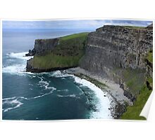 Cliffs of Moher View Poster