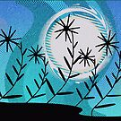 Moon Flowers by Deborah Dillehay