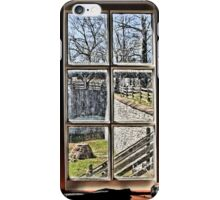 A Window to the Past iPhone Case/Skin