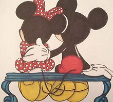 Mickey and Minnie by Vickyis007