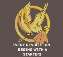 Every Revolution Begins With A Starter T-Shirt