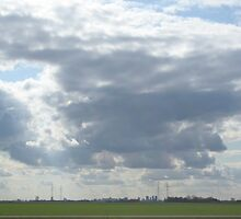 Big Sky Over Winnipeg by Stephen Thomas