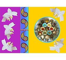 Spice and Orchid Photographic Print