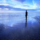 Solitude, Crosby Beach, Liverpool, England by dotcomjohnny