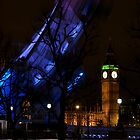Hoses of Parliament and the London Eye by Johan Lindstrom