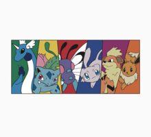 Pokemon team, first generation by Kanimi