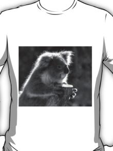Young Koala BW T-Shirt