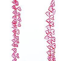 Happy Valentines Day frame image Photographic Print