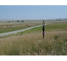 Little Pump on the Prairie Photographic Print