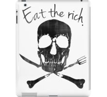 Eat the Rich iPad Case/Skin