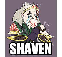 League of Shaven Photographic Print