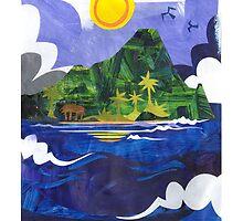 Manono Island by Michael Lothian