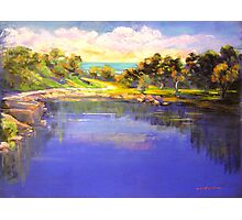 Angourie The Blue Pool Photographic Print