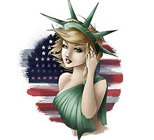 Lady Liberty by lady-nesca