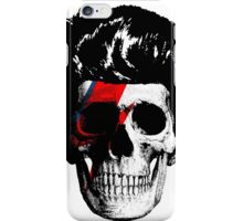 David Bowie (Ziggy Stardust) Skull iPhone Case/Skin